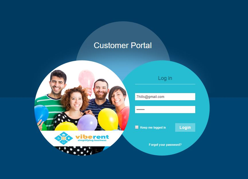Portal-customer-login
